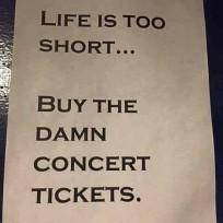Concert Tickets